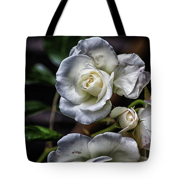 The White Rose Tote Bag