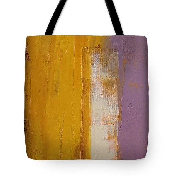 The White Stripe Tote Bag