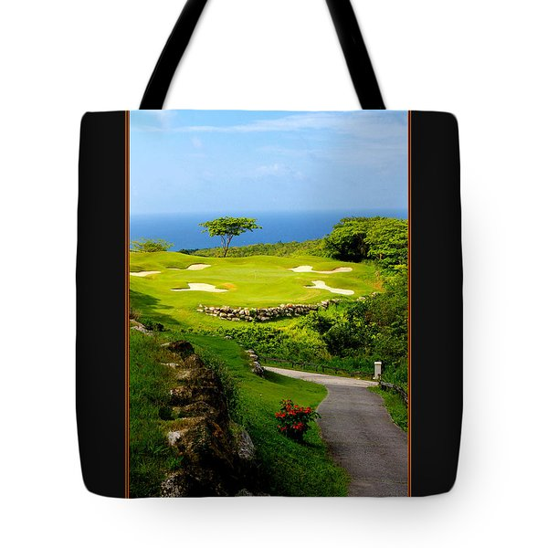 The White Witch Jamaica Tote Bag