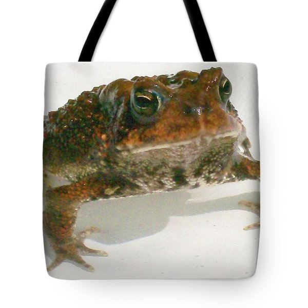 Tote Bag featuring the digital art The Whole Toad by Barbara S Nickerson