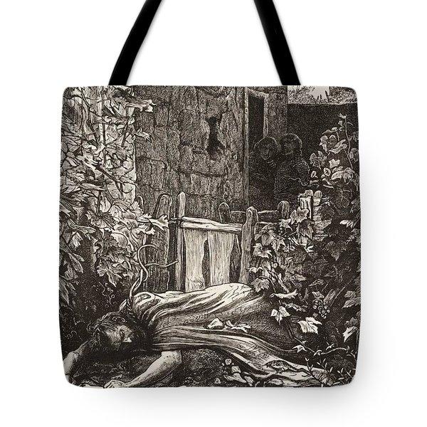 The Wicked Husbandman Tote Bag