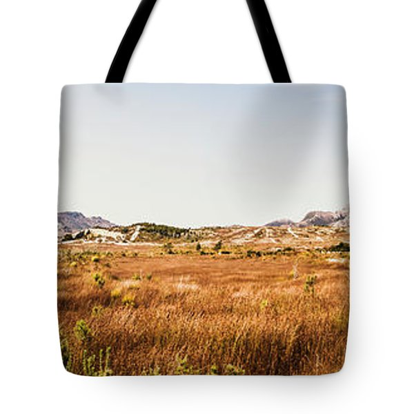 The Wide West Tote Bag