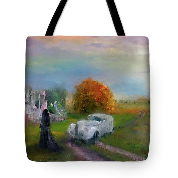 The Widow Tote Bag by Michael Cleere