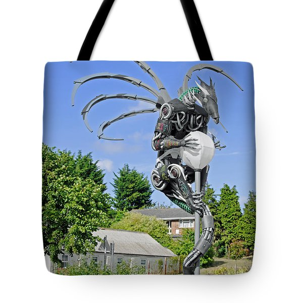 The Wight Dragon Tote Bag by Rod Johnson