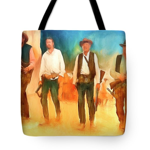 The Wild Bunch Tote Bag by Michael Cleere