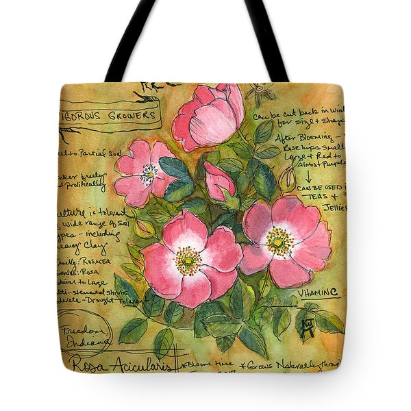 The Wild Rose Tote Bag