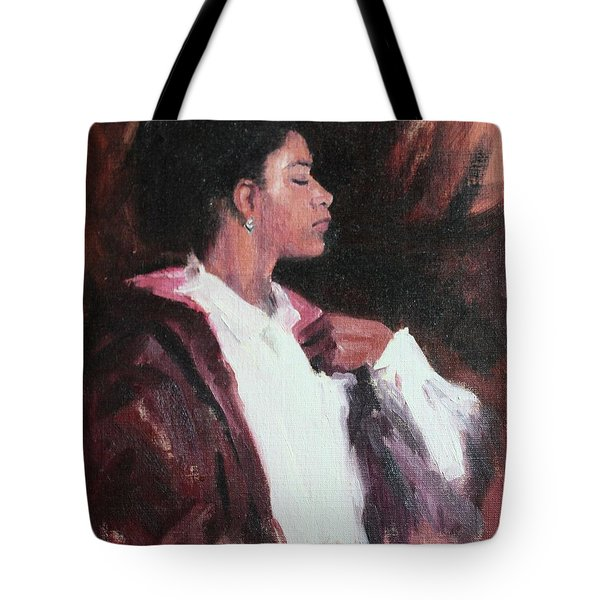 The Will Of A Woman Tote Bag by Rachel Hames