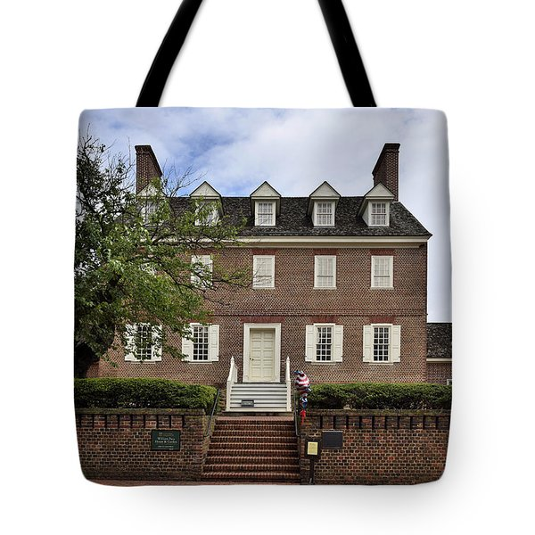 The William Paca House - Annapolis Maryland Tote Bag by Brendan Reals