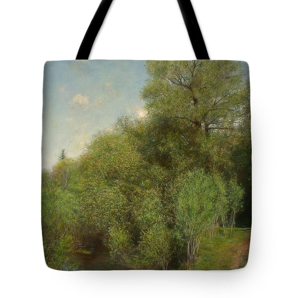 The Willow Patch Tote Bag by Wayne Daniels