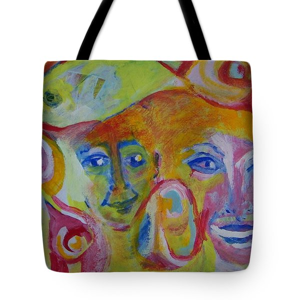 The Wilson Family Loves Their Canary Tote Bag by Judith Redman