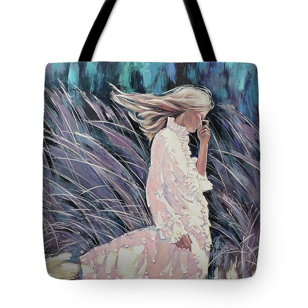The Wind Smells Of Herbs Tote Bag