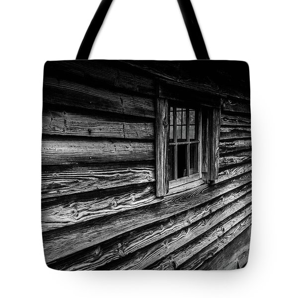 Tote Bag featuring the photograph The Window by Doug Camara