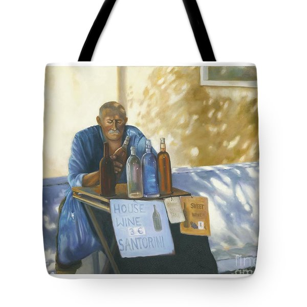 The Wineseller Tote Bag by Marlene Book
