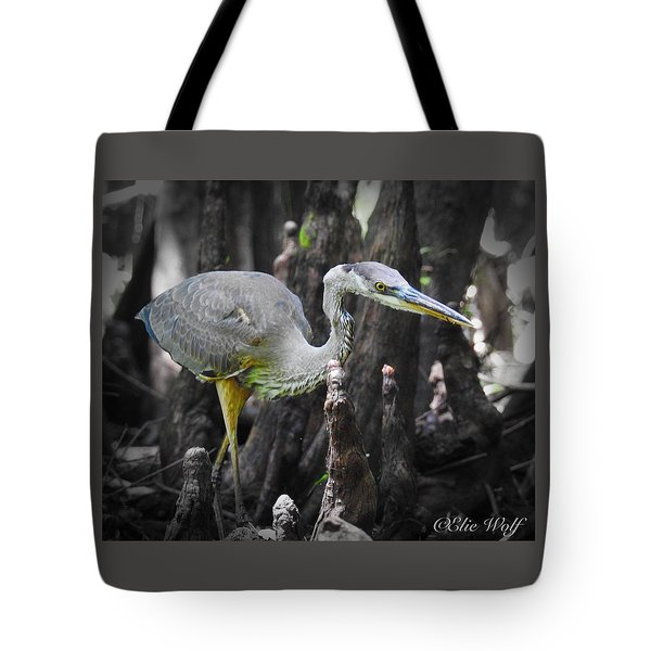 The Winged Stalker Tote Bag