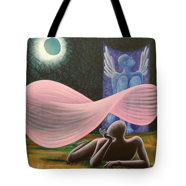 The Wings Tote Bag by Raju Bose