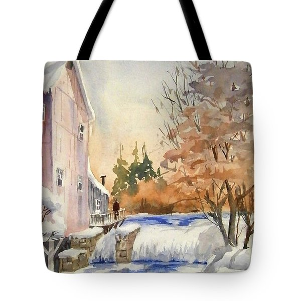 The Winter Mill Tote Bag
