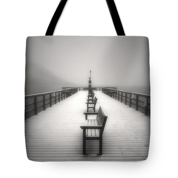 The Winter Pier Tote Bag