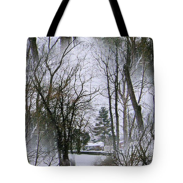 The Winterscene Tote Bag