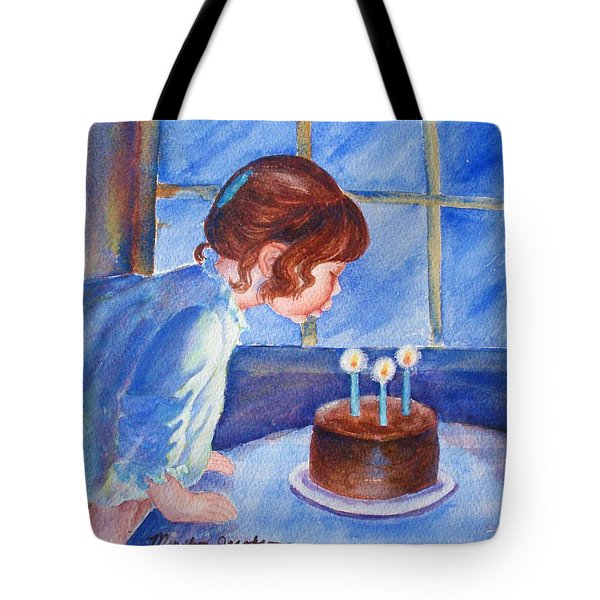 The Wish Tote Bag by Marilyn Jacobson
