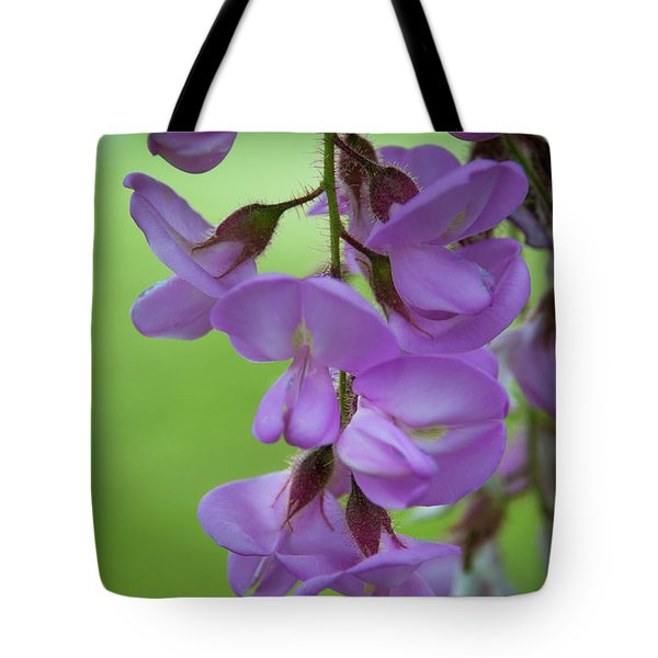 Tote Bag featuring the photograph The Wisteria by Mark Dodd