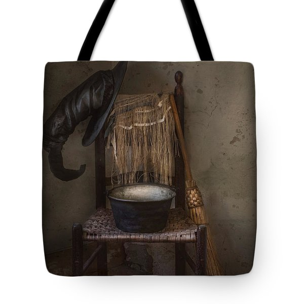 Tote Bag featuring the photograph The Witch Is In by Robin-Lee Vieira