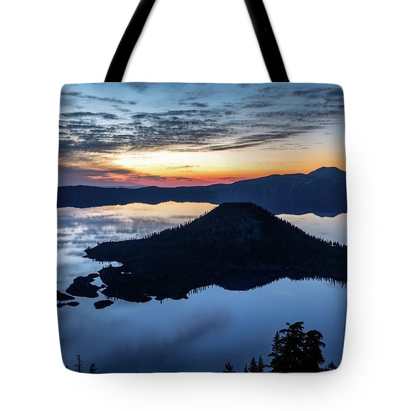 Tote Bag featuring the photograph The Wizard At Dawn by Pierre Leclerc Photography