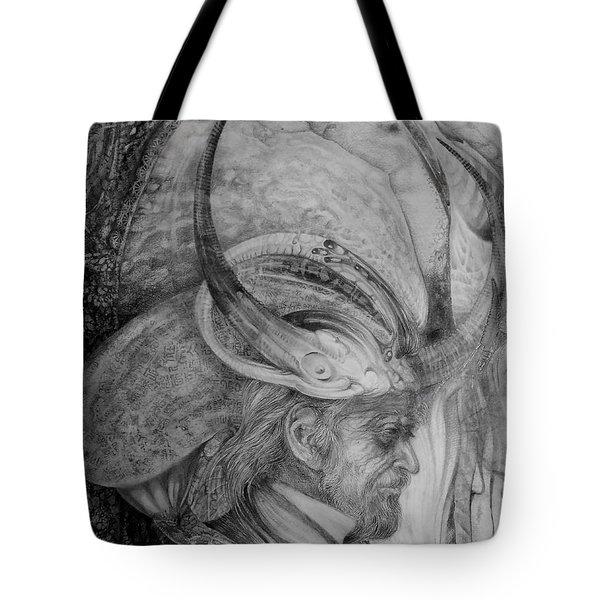 The Wizard Of Earth-sea Tote Bag