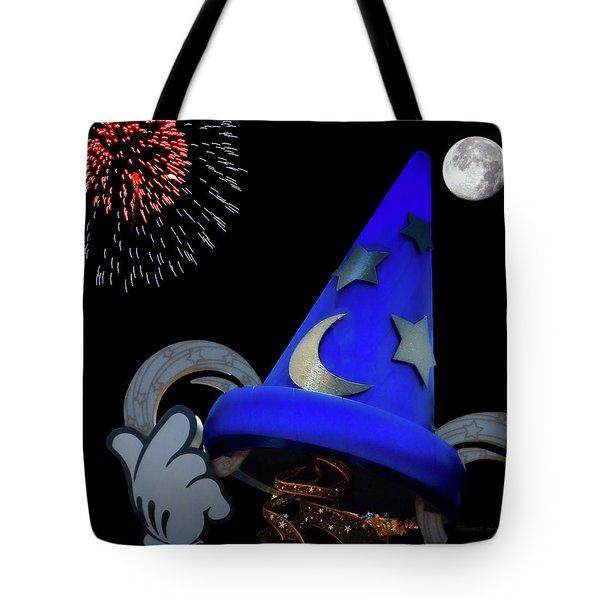 The Wizard Walt Disney World Mp Tote Bag