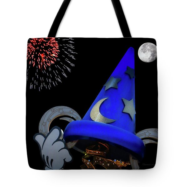 The Wizard Walt Disney World Mp Tote Bag