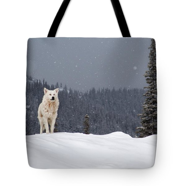 The Wolf Tote Bag by Evgeni Dinev