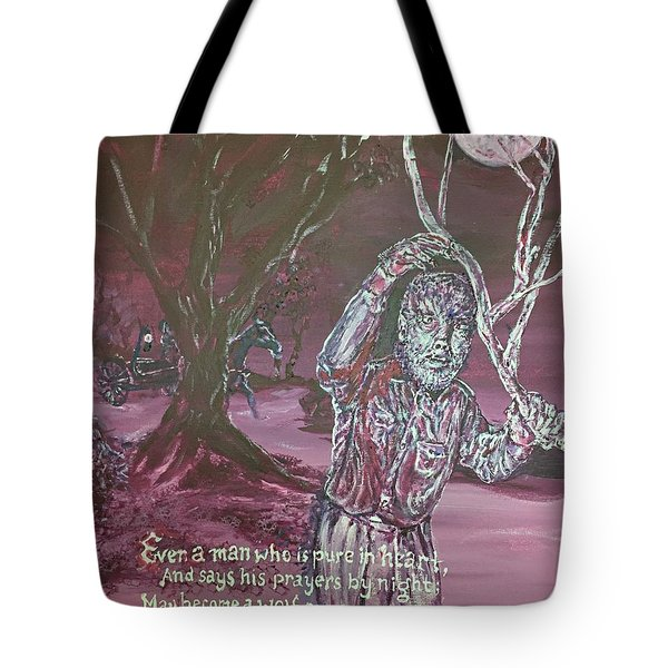 The Wolf Man, 1941 Tote Bag