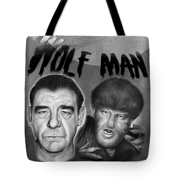 The Wolf Man Tote Bag