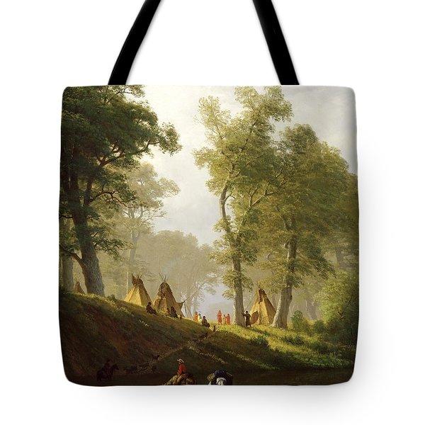 The Wolf River - Kansas Tote Bag