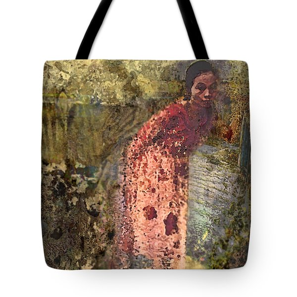 The Woman At His Tomb Tote Bag