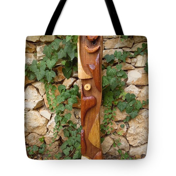 Tote Bag featuring the painting The Woman Totem by Esther Newman-Cohen