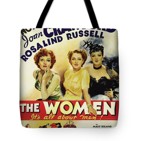 The Women - It's All About Men 1939 Tote Bag