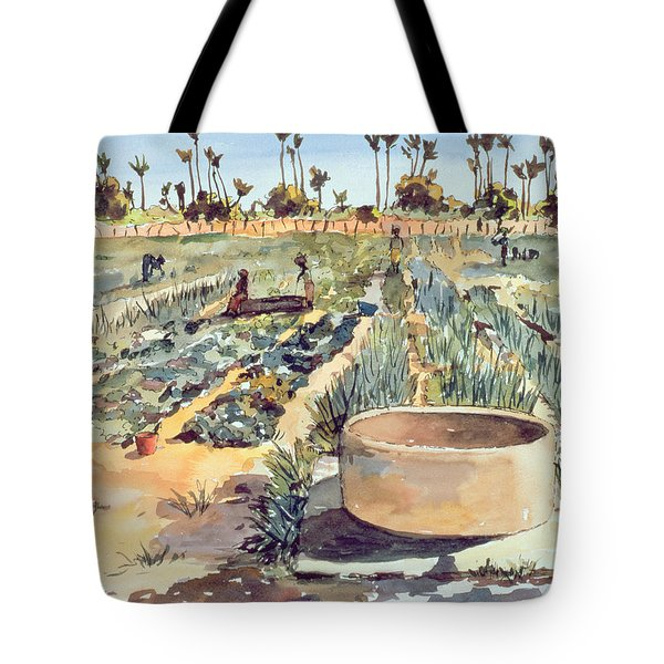 The Wome's Garden  Senegal West Africa Tote Bag