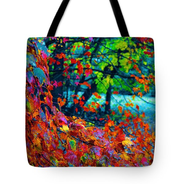 The Wonder Of Autumn Tote Bag