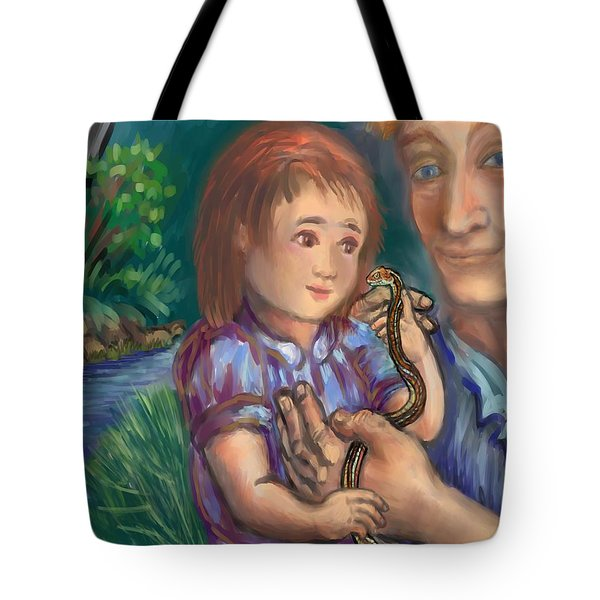 The Wonder Of Life II Tote Bag by Dawn Senior-Trask