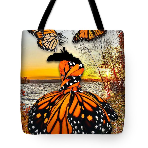 Tote Bag featuring the mixed media The Wonder Of You by Marvin Blaine