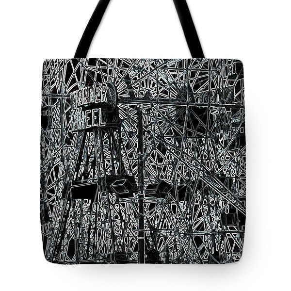 The Wonder Wheel Tote Bag