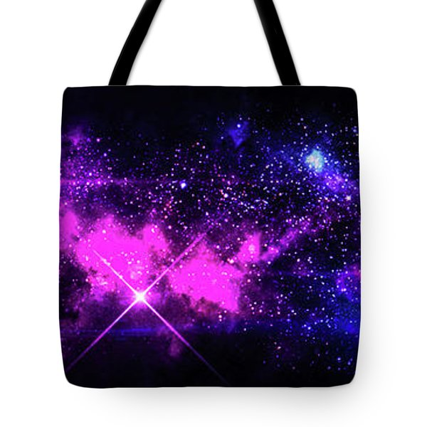 The Wonders Of Space  Tote Bag by Naomi Burgess