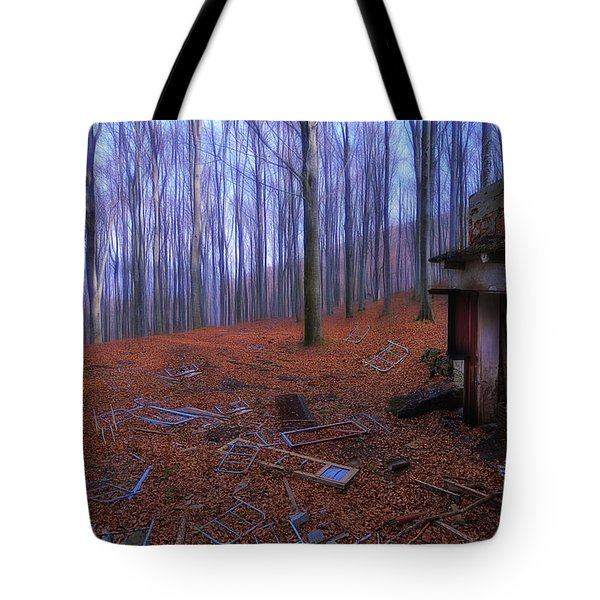 The Wood A La Magritte - Il Bosco A La Magritte Tote Bag