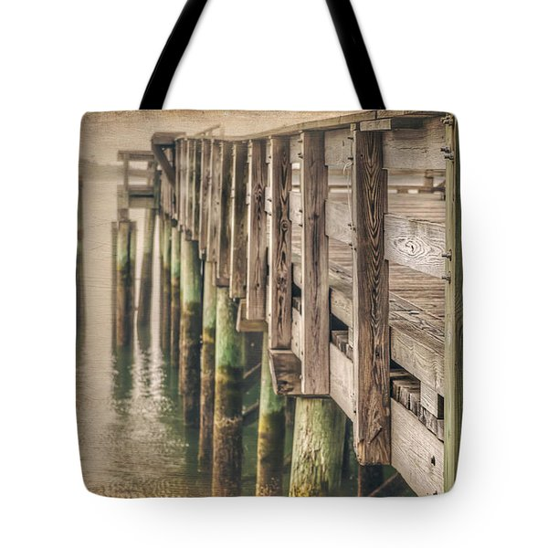 The Wooden Pier Tote Bag