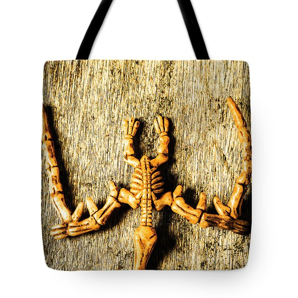 The Wooden Pterosaur Tote Bag