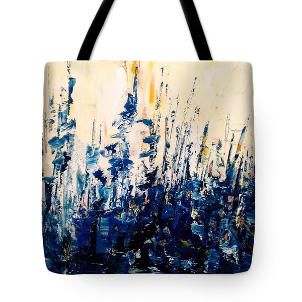 The Woods - Blue No.1 Tote Bag