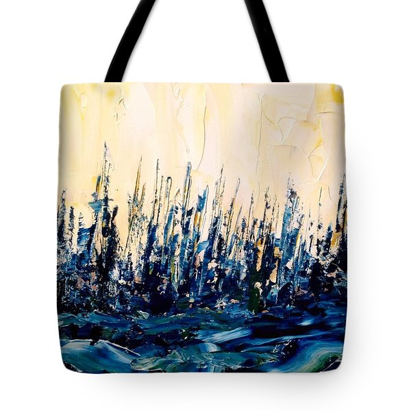 The Woods - Blue No.2 Tote Bag