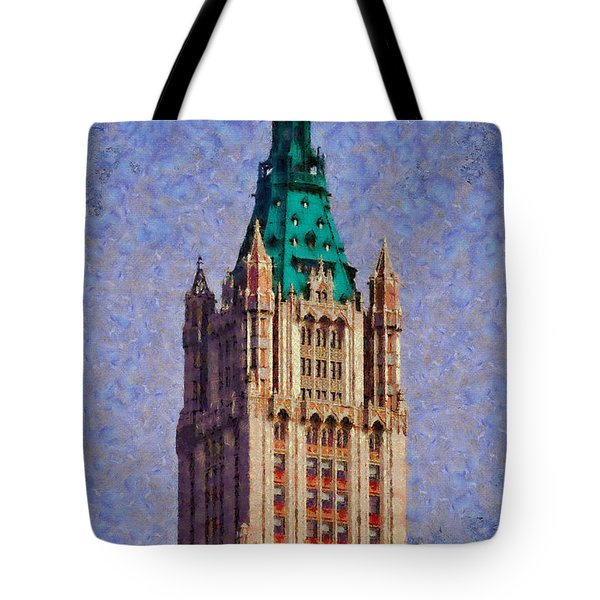 The Wooldworth Building Tote Bag