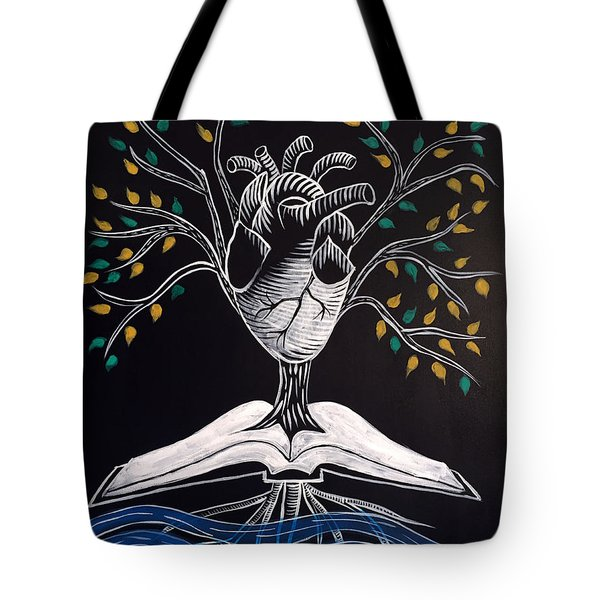 The Word Is Life Tote Bag