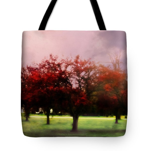The World Is Charged Tote Bag